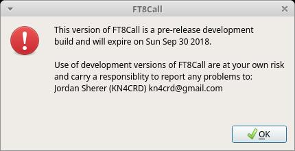 FT8Call on Ubuntu 18 04 - LinuxER eu